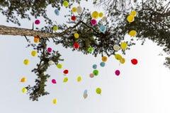 Zeldzame ziektenballons Stock Foto