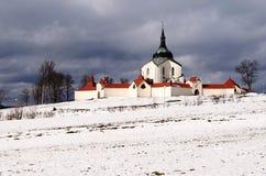 zelena паломничества hora церков Стоковое Изображение RF