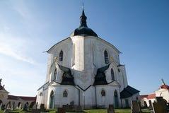 Zelena Hora, Czech republic. Church St. John of Nepomuk in Zelena Hora near Zdar nad Sazavou, Czech republic Royalty Free Stock Images