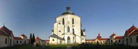 zelena John nepomuk ST hora εκκλησιών Στοκ φωτογραφίες με δικαίωμα ελεύθερης χρήσης