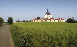 zelena John nepomuk ST hora εκκλησιών Στοκ Εικόνες