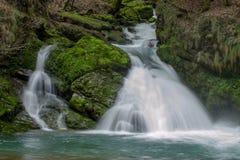 Zelenivir waterval royalty-vrije stock foto