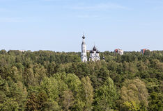 Zelenogorsk. Russia. Church of Our Lady of Kazan. Royalty Free Stock Image
