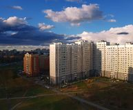Zelenograd administratief district in Moskou, Rusland stock foto's
