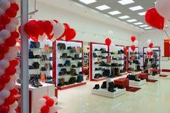 Zelenograd, Russia - September 15. 2017. Opening of Francesco Donny store in shopping mall Zelenopark. Zelenograd, Russia - September 15. 2017. Opening of Royalty Free Stock Photography