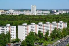 Zelenograd - uma área eco-amigável de Moscou Imagens de Stock Royalty Free
