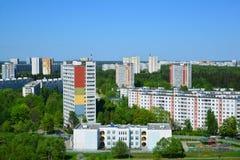 Zelenograd - uma área eco-amigável de Moscou Foto de Stock Royalty Free