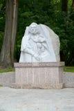 Zelenogradsk, Russland Monument zum Dichter Adam Mickiewicz Lizenzfreies Stockbild