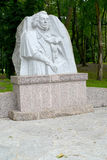 Zelenogradsk, Russland Monument zum großen polnischen Dichter Adam Mickiewicz Lizenzfreies Stockfoto