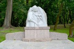 Zelenogradsk, Russland Monument zum polnischen Dichter Adam Mickiewicz Stockfoto
