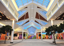 Zelenopark centrum handlowego wnętrze, Moskwa Obraz Royalty Free