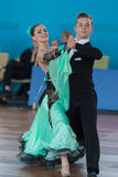 Zelenskiy Ivan y programa del estándar de Lantuhova Anna Perform Youth-2 Foto de archivo