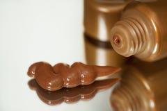 Zelf het Looien Bronzende Lotion Royalty-vrije Stock Fotografie