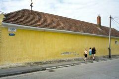 Zeliarska Straße Lizenzfreies Stockbild