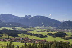 Zell in Allgaeu Stock Image