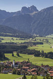 Zell in Allgaeu Royalty Free Stock Photo