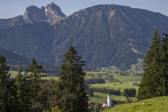 Zell in Allgaeu Stock Images