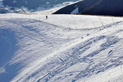 Zell Am See Ski Resort In The Austrian Alps Royalty Free Stock Images