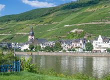 Zell an der Mosel,Mosel Valley,Germany Stock Photography