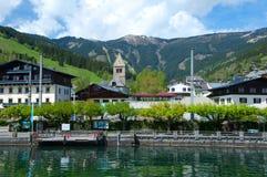 Zell morgens sehen, Österreich Stockbild