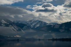 Zell morgens sehen, Österreich Stockfoto