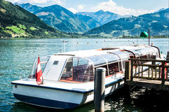 Zell am see Stock Image