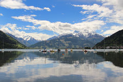Zell am See Royalty Free Stock Photo