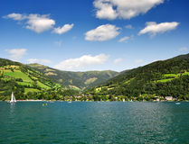 Zell am see in Austria Royalty Free Stock Photo