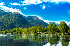 Zell Am See, Austria, Europe. Stock Photos