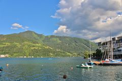 Zell am See, Austria Royalty Free Stock Photo