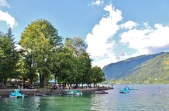 Zell am See, Austria Stock Image