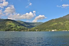 Zell am See, Austria Stock Photo