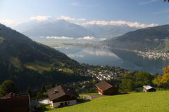 Zell am see Royalty Free Stock Images