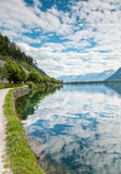 Zell Am See lake in Austria Royalty Free Stock Photography