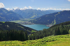 Zell am See, Salzburger Land, Salzburg, Austria Royalty Free Stock Image