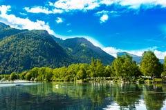 Zell Am Widzii, Austria, Europa Zdjęcia Stock