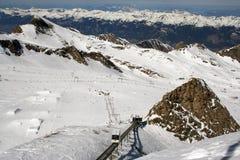 Zell Am ziet Oostenrijk Royalty-vrije Stock Afbeelding