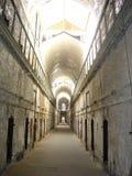 Zellen in einem Gefängnis Stockbild