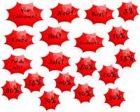 Zellenentfernungsikonen Stockbild