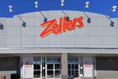 Zellers Photo stock