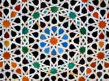 Zellige, marokkanische Mosaikfliesen Stockbild