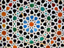 Zellige, tessere marocchine Immagine Stock