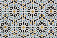 Zellige tiles from Morocco Stock Photo
