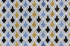 Zelligetegels van Marokko Royalty-vrije Stock Fotografie