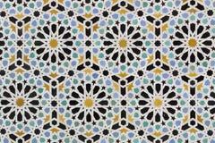 Zelligetegels van Marokko Stock Foto