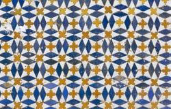Zelligetegels van Marokko Royalty-vrije Stock Foto