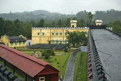 Zelluläres Gefängnis, Port Blair, Andaman, Indien stockbild