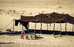 Zelte beduinisch Lizenzfreie Stockfotos