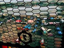 Zelte und Fahrten lizenzfreies stockfoto