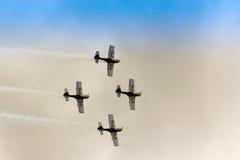 ZELTWEG, AUSTRIA - JULY 02, 2011: Flying Bulls Aerobatics Team, Stock Photos